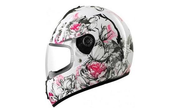 shark s600 rose casque de moto femme pi ces auto moto. Black Bedroom Furniture Sets. Home Design Ideas