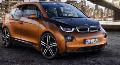 Voiture électrique BMW i3